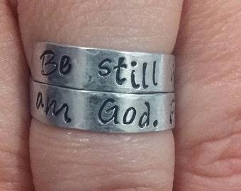 Scripture Wrap Ring