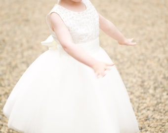 "Flower Girl Dress ""Dazzle"""