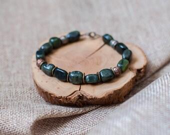 Bracelet jade (Продано) (sales)