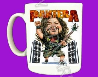 Pantera . Dimebag Darrell Mug . Mugs .