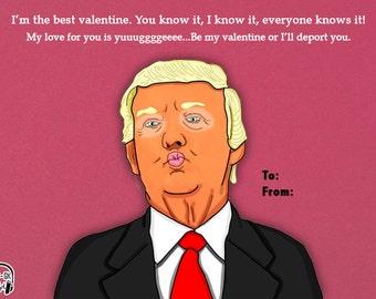 Donald Trump Valentines Card