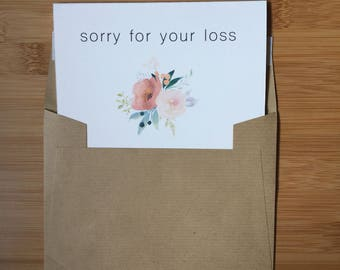 Condolence Card Design