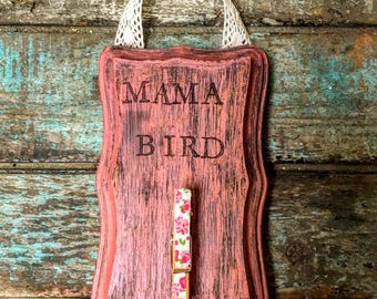 Mama Bird Photo Holder