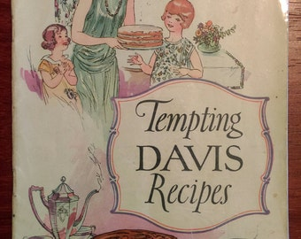 Tempting Davis Recipes Cooking Booklet