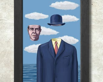 René Magritte Poster Print A3+ 13 x 19 in - 33 x 48 cm  Buy 2 get 1 FREE