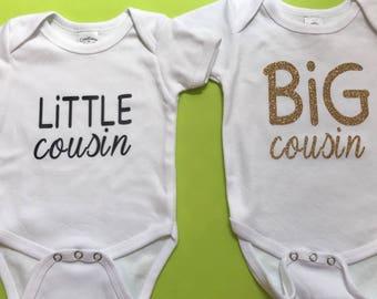 Big cousin & Little Cousin Onsie