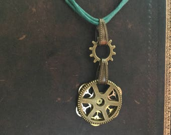 Bronze Steampunk Necklace