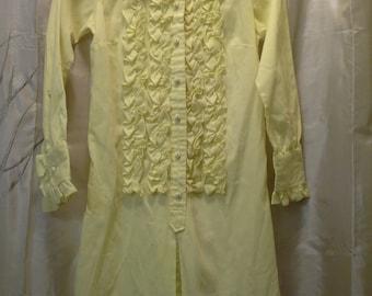 Vintage Mr. K Girls Tuxedo Dress circa 1970's