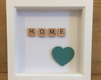 Scrabble Wall art - HOME