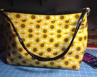 Sunflower Duct Tape Purse