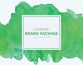 Custom Brand Package - Custom Branding - Business Starter Pack - Graphic Design