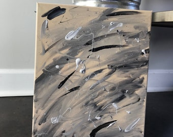 Grey'e Original abstract painting