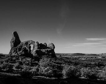 Arches National Park Black & White