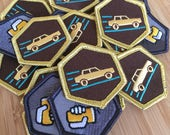 Cargress Gold Patch - Unofficial Ingress Swag