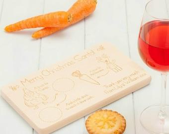 Personalised Birchwood Santa Tray