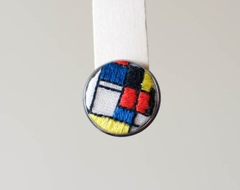PIN inspired in Mondrian
