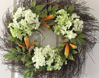 Easter wreath,Wreath,Spring wreath,Floral wreath,Wreath for door,Front door wreath,Flower wreath.