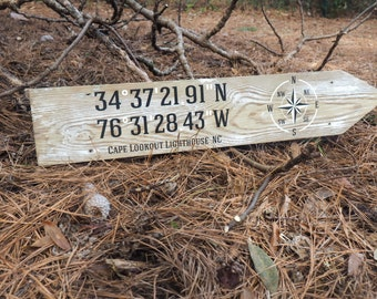Custom Latitude & Longitude Signs
