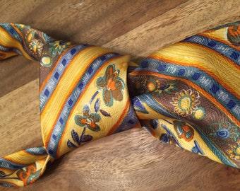 Vintage tie by America - 100% silk - made in Germany
