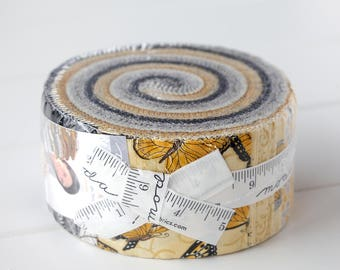 Bee Inspired Jelly Roll by Deb Strain, for Moda Fabrics