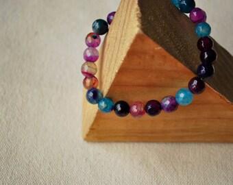Mermaid Agate Crystal Bracelet