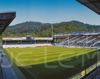 Freiburg Stadium - 240 x 100 cm poster - quality FineArtPrint