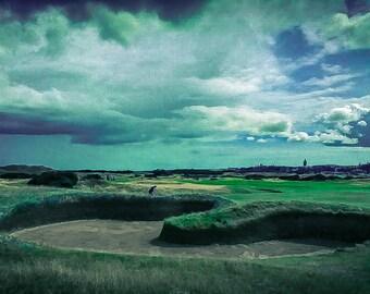 St Andrews Old Course - Hells Bunker