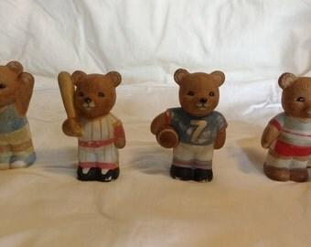 4 Homco Sports Bears