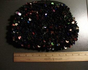 Multi-Colored Beaded Clutch