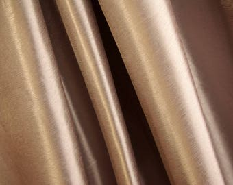 Soft Shine Beige Fabric