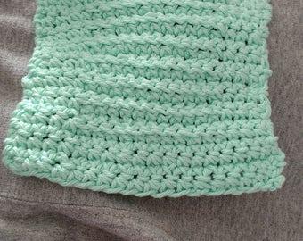Cotton crochet dishcloth