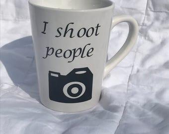 I Shoot People Photographer Mug