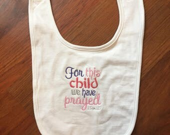 For This Child We Prayed For 1 Samuel 1:29