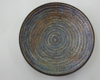 Blue Circle Bowl