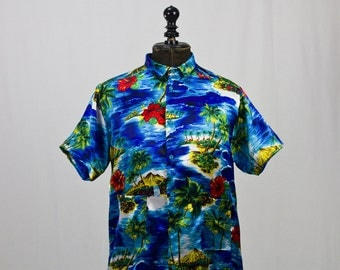 Shirt printed Hawaii
