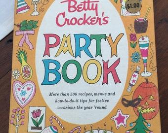 Vintage Betty Crocker Party Book