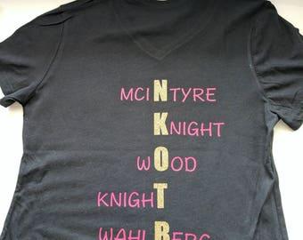 NKOTB shirt
