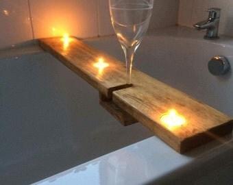 hand made bath caddie/plank
