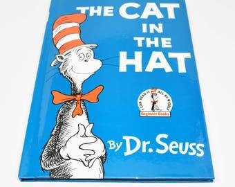 DR. SEUSS The Cat In The Hat Book ~ Dr. Seuss ~ Dr. Seuss Books ~ Dr. Seuss Cat In The Hat ~ Cat In The Hat ~ Dr. Seuss Beginner Books