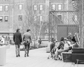 Highline NYC in December