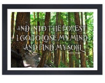 Into the Forest I go, to lose my mind and find my soul *DIGITAL FILE*