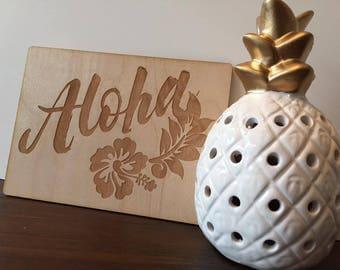 Aloha Plaque