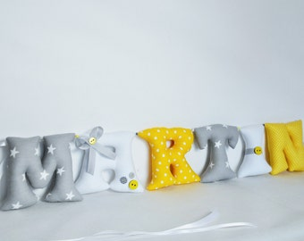 Nursery wall letters etsy - Lettre decorative murale ...