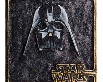 Darth Vader Wood Art