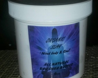 All Natural Raw Shea Butter 4-6 oz.