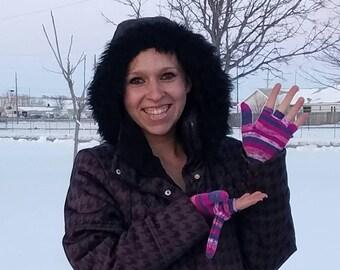 Little Purple Gloves