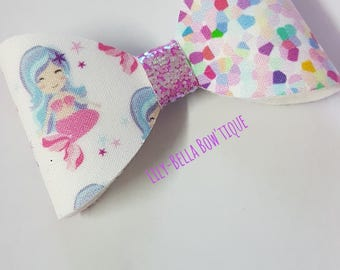 "5"" Mermaid bow"
