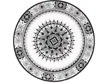 Atlas Plate, Black