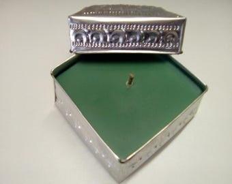 Candle in a decorative box