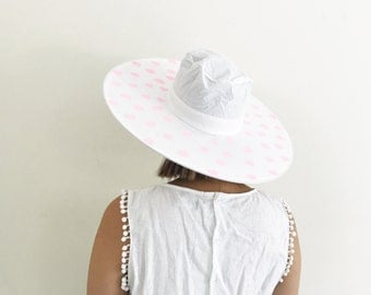 Pretty In Pink Pop-Up Hat